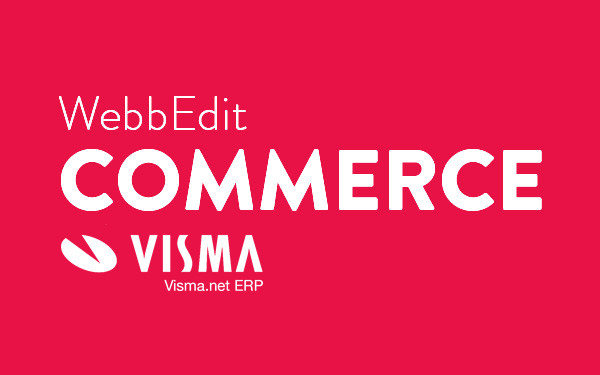 WebbEdit Commerce Visma.net